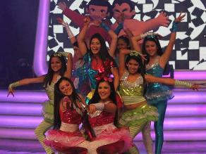 Combate: ´La China´ presentó show infantil durante programa