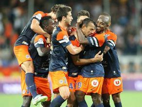 Montpellier de Jean Deza empató 2-2 con Evian por la Liga francesa