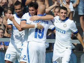 Inter de Milán humilló 7-0 al recién ascendido Sassuolo en la Serie A