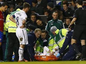 Gareth Bale sufre una sobrecarga muscular en el muslo izquierdo