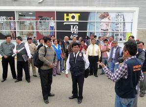 Coordinan acciones para simulacro de sismo y tsunami en Chiclayo