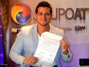 Christian Domínguez es parte del elenco de