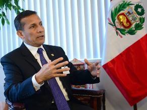Humala: Vamos a ratificar con Piñera ejecución de fallo de La Haya