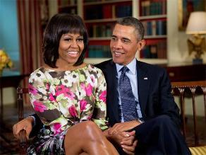 Barack Obama dejó de fumar por miedo a su esposa Michelle