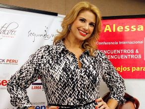 Alessandra Rampolla: intimidad es básica para el éxito de la relación
