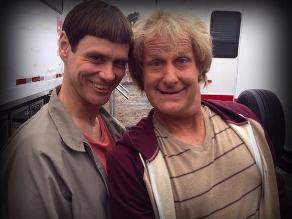 Primera foto Dumb and Dumber To con Jim Carrey y Jeff Daniels