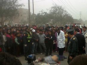 Dos personas murieron cuando una moto esquivaba un hueco en Trapiche, Comas