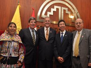 Vicecanciller: El Parlamento Andino está en proceso de reingeniería