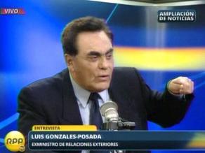 Gonzales Posada: Cierre de P.A. causará sismo político con fuertes réplicas