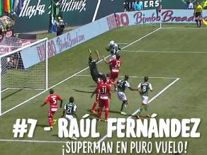 Raúl Fernández entre los latinoamericanos más destacados de la MLS