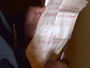 Dejan sobre con balas y carta a gerente municipal de Nuevo Chimbote
