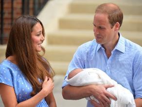 Bebé real George Alexander será bautizado en octubre