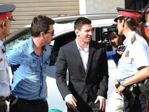 Lionel Messi y su padre declararon en juzgado de Gavá por supuesto fraude