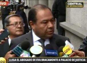 Abogado de Eva Bracamonte a la espera de decisión de Juez dirimente