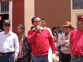 Gregorio Santos: Cajamarca mantendrá posición ´Conga No Va´