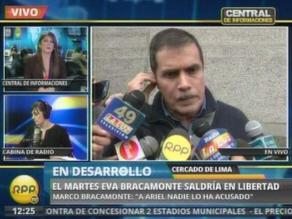 Marco Bracamonte: Nuevo juicio a Eva es un daño moral y económico
