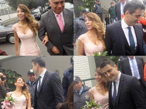 Delly Madrid y Antón Alba se dieron el sí acepto