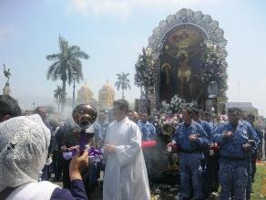 Señor de los Milagros inicia mañana recorrido en Trujillo