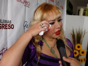Susy Díaz llama demonios al Mero loco y su novia