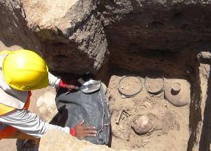 Lambayeque: Hallan nuevos objetos en tumba de personaje Chimú