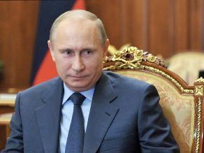 Proponen a Putin para el Premio Nobel de la Paz