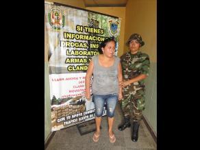 Huánuco: Capturan a narcoterrorista en el Monzón