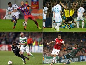 Repasa todos los resultados de la jornada de Champions League