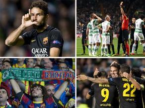 Revive la victoria del Barcelona sobre el Celtic por la Champions