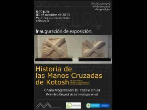 Historia de las Manos Cruzadas de Kotosh a 50 años de su descubrimiento