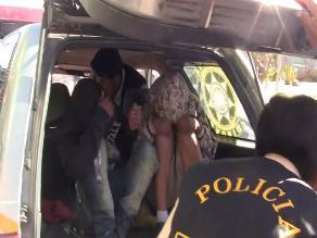 Trujillo: 12 años de prisión para delincuentes que asaltaban en taxi
