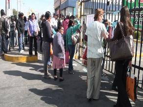 Arequipa: Trabajadores de Salud radicalizan medidas de protesta