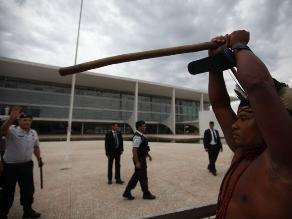 Protestas en Brasil: Indígenas reclaman el respeto por sus derechos