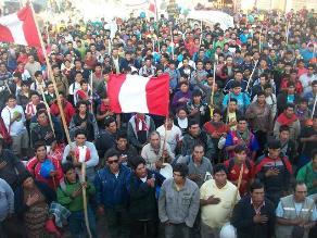 Arequipa: mineros artesanales descartan aunarse a huelga nacional