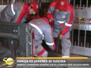 Investigan si pareja de jóvenes se suicidó con veneno en San Luis