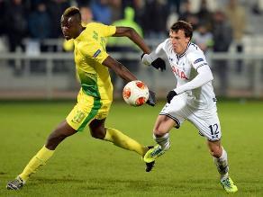 Tottenham Hotspur venció 2-0 al Anzhi en Rusia por la Europa League