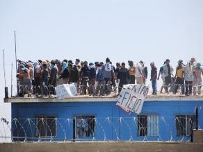 Chimbote: internos amenazaron con quemar local para escapar