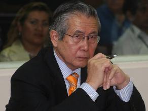 Corte Suprema evaluará pedido de arresto domiciliario para Fujimori