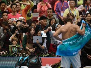 Rafael Nadal y su torso desnudo alborotaron a sus fans en Pekín