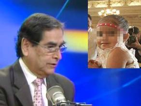 Ugarte: SISOL apoyará a la niña sirenita hasta que justicia lo disponga