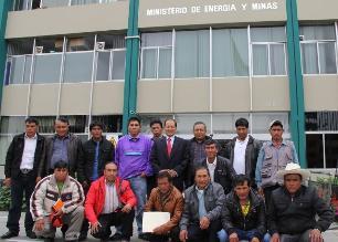 Representantes de 32 comunidades de Cajamarca respaldan Conga