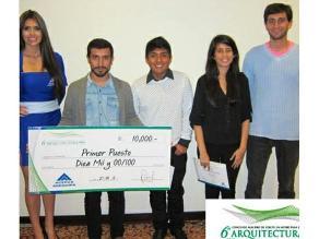 Estudiantes de Arquitectura de la PUCP ganan concursos en el Perú