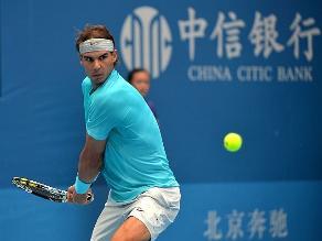 Rafael Nadal finalista en Pekín y le arrebatará el liderato a Djokovic