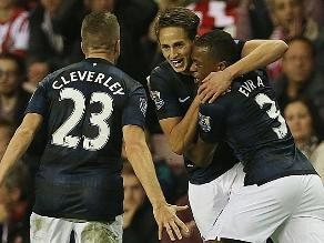 Manchester United derrotó 2-1 al Sunderland de la mano de Adnan Januzaj