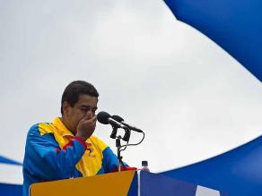 Maduro dedica