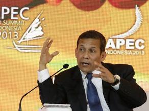 Presidente Humala destaca en APEC la estrategia ´Incluir para crecer´