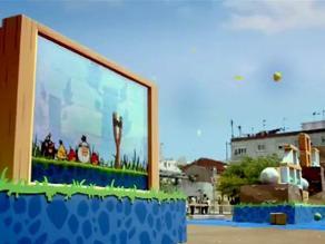 Inauguran parque de diversiones de Angry Birds en China