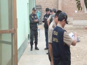PNP revela que asaltante de comisaría provocó su muerte