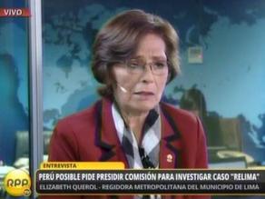 Elizabeth Querol sobre aumento de peajes: Villarán debe salir y aclarar