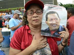 Venezuela: Centenares recuerdan último triunfo electoral de Hugo Chávez