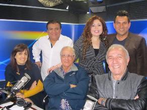 Patricia del Rio, Guido Lombardi, Los Chistosos y los 50 años de RPP